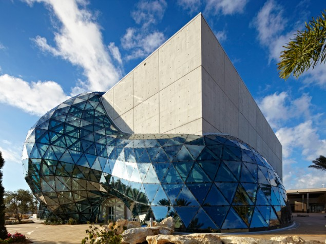 Thinking outside the box, by design — the Dali Museum, St.Petersburg