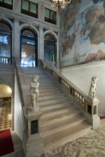 The grand and glorious marble staircase