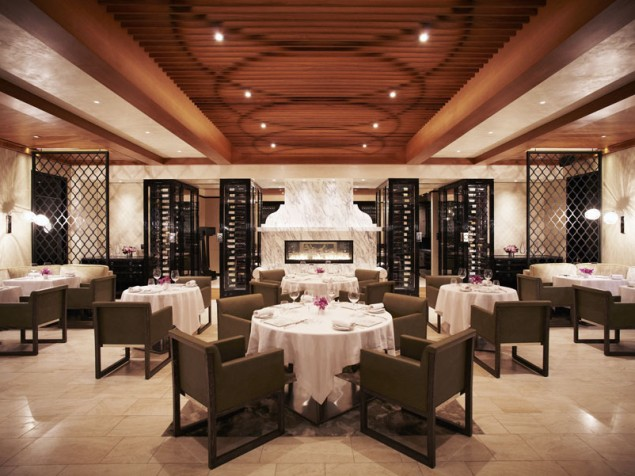 A match made in dining heaven — architects Rockwell Group and chef Wolfgang Puck