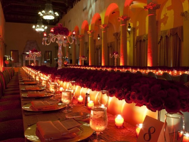 A grand setting for the celebration of love