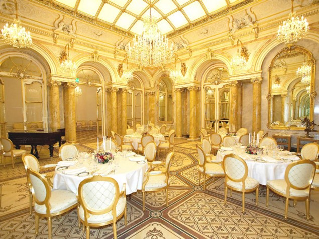 The palatial Hall of Mirrors provides a most opulent setting for a special celebration