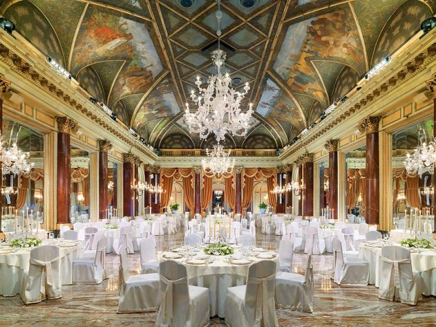 There is no better place to show off the bride than in the Ritz Ballroom