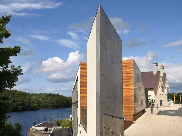 A respectful merging of local  Irish heritage with the boldness of 21st century design