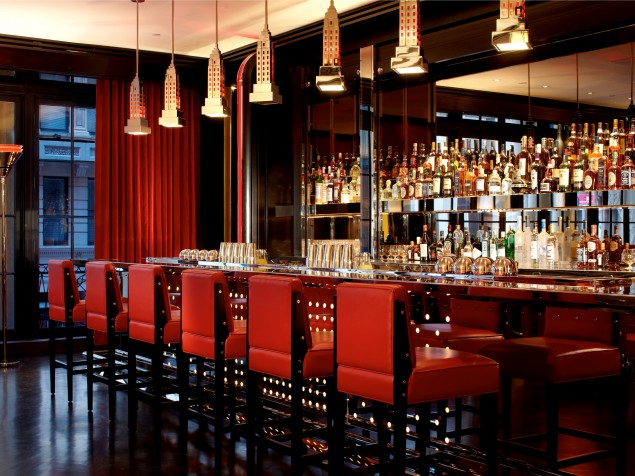 Glamour done right at the Lambs Club Bar