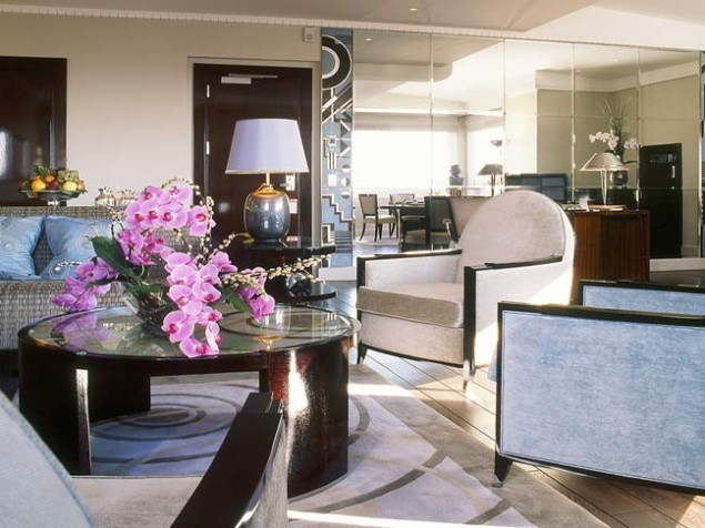The superbly appointed Signature Art Deco Plaza Athenee Suite