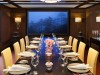 Conduct business or dine privately in the seriously stylish Media Room at 45 Park Lane