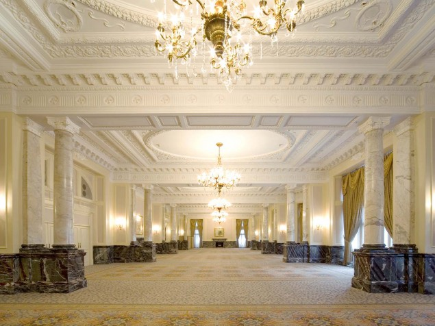 Picture your conference or celebration in the masterpiece that is the Grand Ballroom