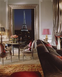 The Signature Eiffel Suite and its million dollar view