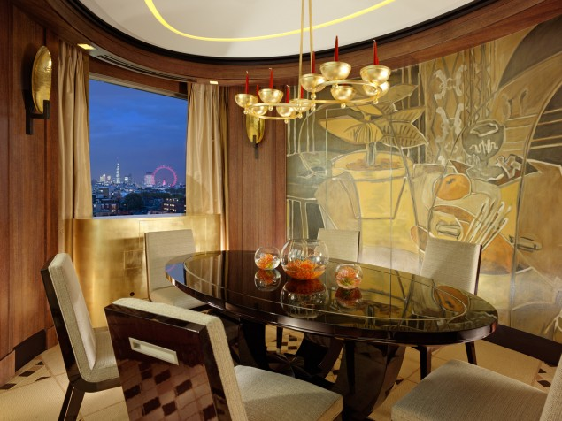 A most creative setting for private dining in the award-winning Penthouse Suite