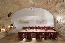 "Host a private dinner in the historic ""casemates"" of Palais Coburg"