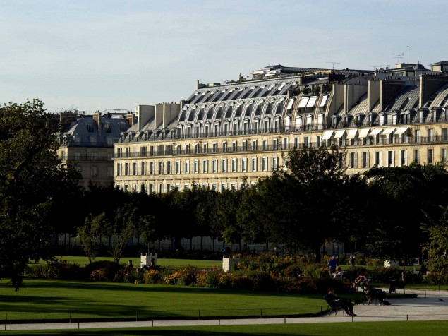 A longtime resident of Paris, Le Meurice proudly overlooks the Garden des Tuileries