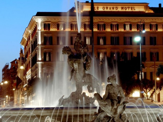 Built to attract Americans, the St. Regis Grand Rome is a world-renowned destination