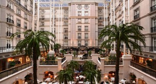 The Winter Garden — the soul of the Landmark London and a standout atrium space