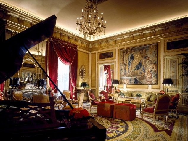 Cesar Ritz's extraordinary vision of classic luxury lives on in the St. Regis Grand Rome