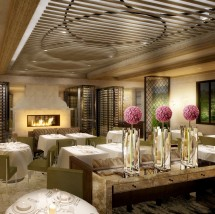A class-act design for the one and only Wolfgang Puck at Hotel Bel Air