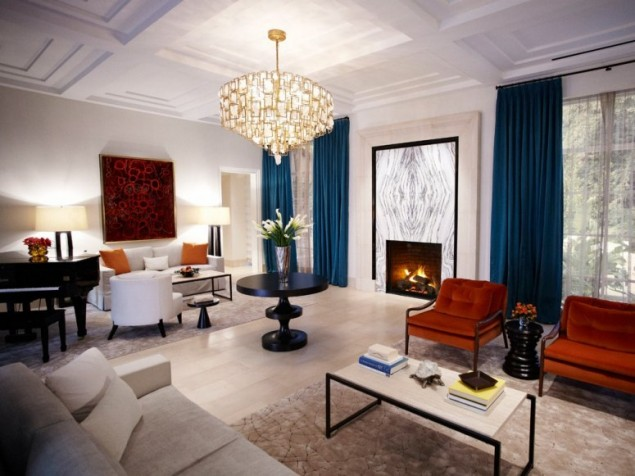 Perfect balance of design, detail, and proportion in  the larger-than-life Presidential Suite