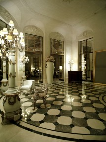 The lobby that has welcomed distinguished guests for almost 200 years