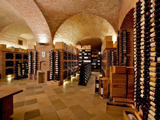 Not your average wine cellar — Palais Coburg's wine archive is 60,000 bottles strong