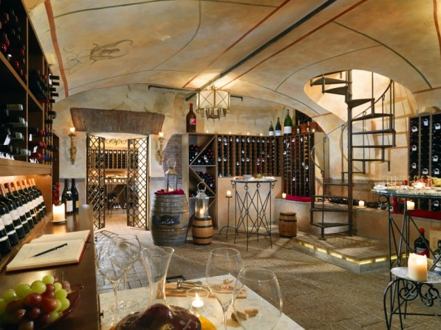 The di...Vino wine cellar can be yours for a private dinner or corporate reception