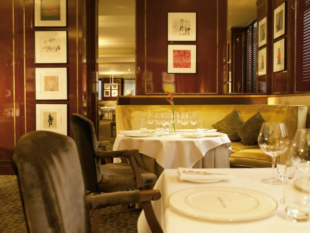 Number One — the Balmoral's Michelin-starred restaurant for 11 consecutive years