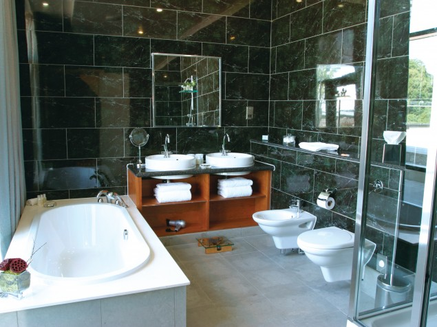 Seriously well-appointed bathrooms worth spending more time in...