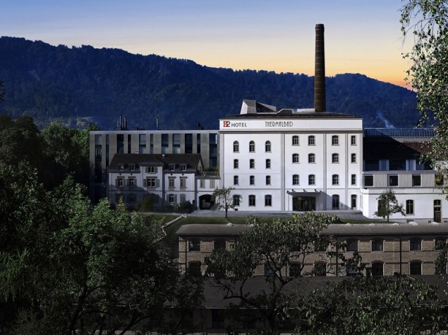 A famous Swiss brewery is recast as the distinctively hip B2 Boutique  Hotel