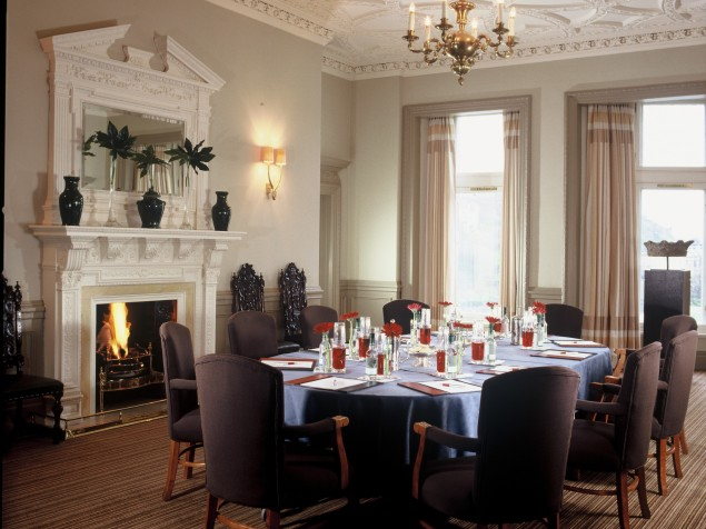 Impress your executives with a board meeting in the historic Carron Suite