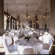The authentic woodwork and ornate plaster in the Sir Walter Scott Suite will enrich your special event