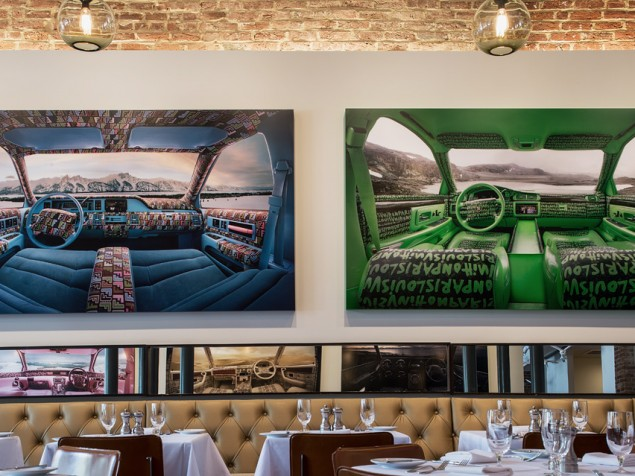 Rotating art exhibits are the extra setting on the table at award-winning Proof on Main