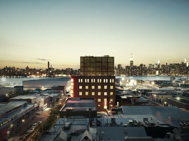 Rise and shine New York — in Brooklyn's hip luxury boutique hotel, the Wythe