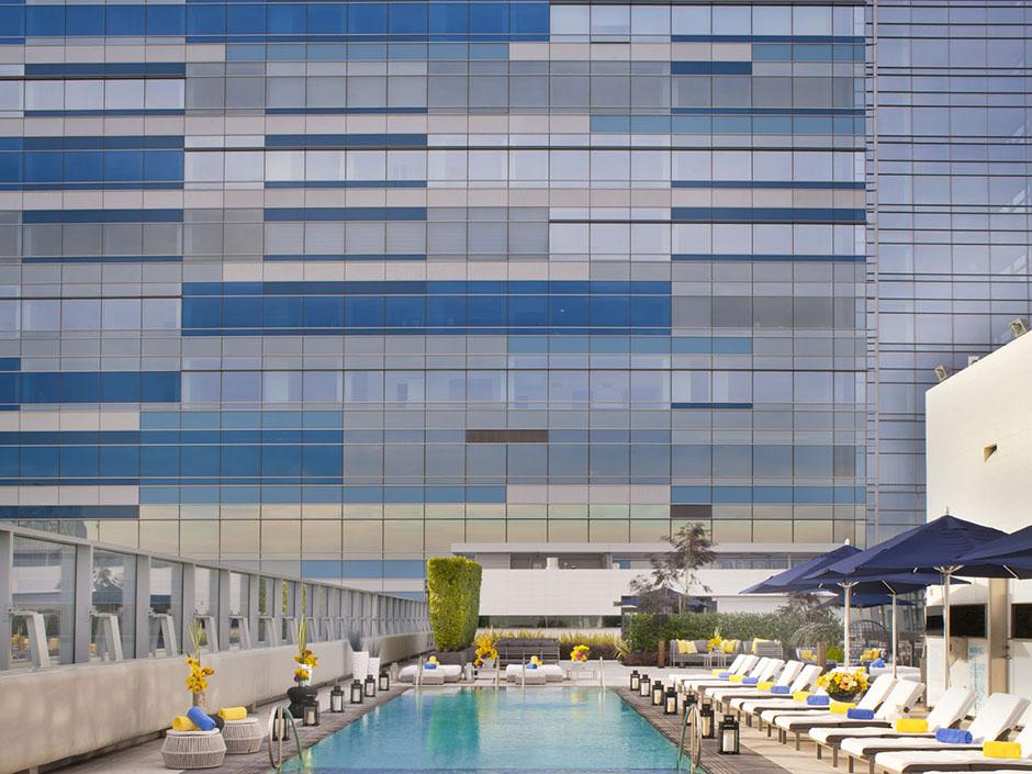Ritz Carlton Los Angeles Architectural Holidays