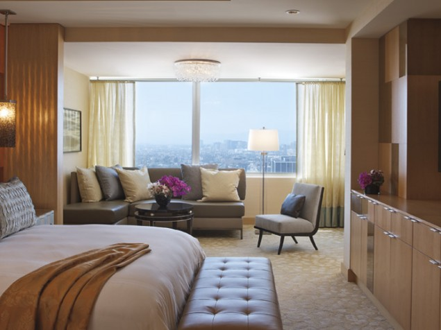 The signature elegance of Ritz Carlton redefines itself for the Los Angeles lifestyle