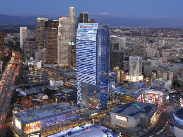 The greening of sports and entertainment at LA Live starts with the Ritz-Carlton