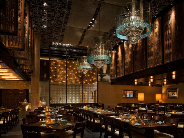 A contemporary and highly atmospheric setting for modern Italian cuisine at LAVO