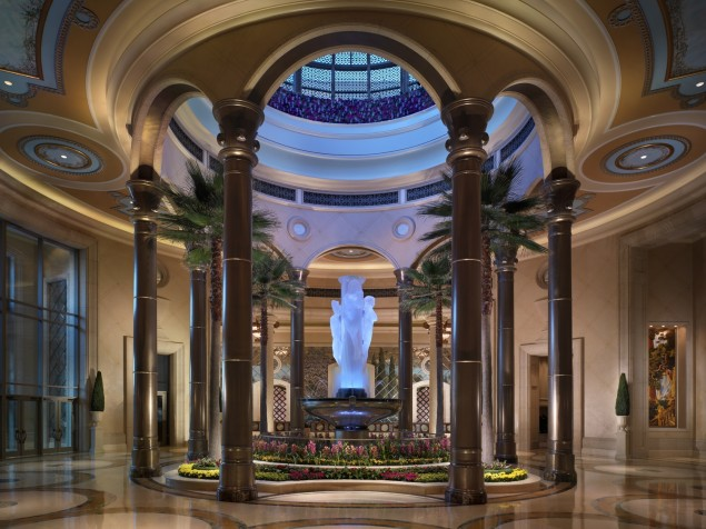 Las Vegas gets sophisticated on an international scale in the uber-luxurious Palazzo