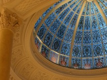 The glorious stained glass dome and the soul of Threadneedles