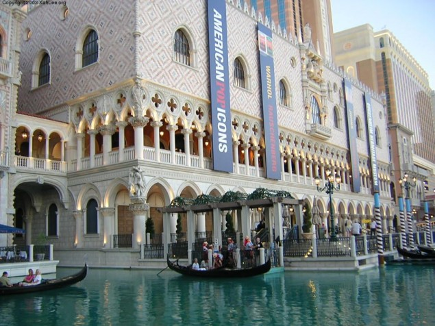 The Venetian in Las Vegas really is the next best thing to being there...