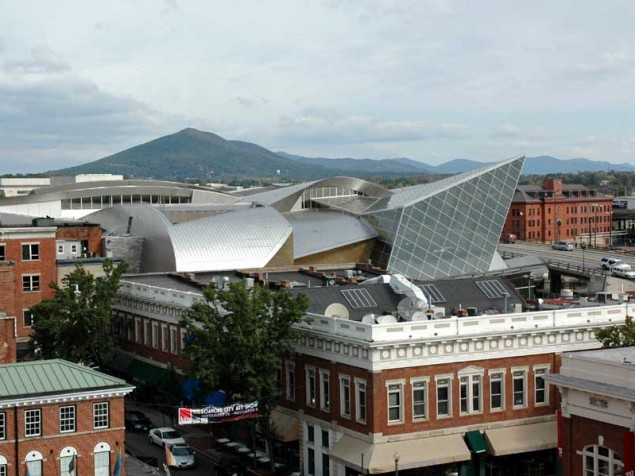 A striking new museum for historic Roanoke, Virginia, inspired by the Shenandoah Valley