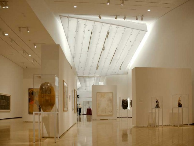 Creative Lighting Solutions Define The Galleries While Protecting The  Artwork