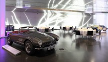 "The heart of the BMW Museum is the BMW Square, where your special occasion is ""shared"""