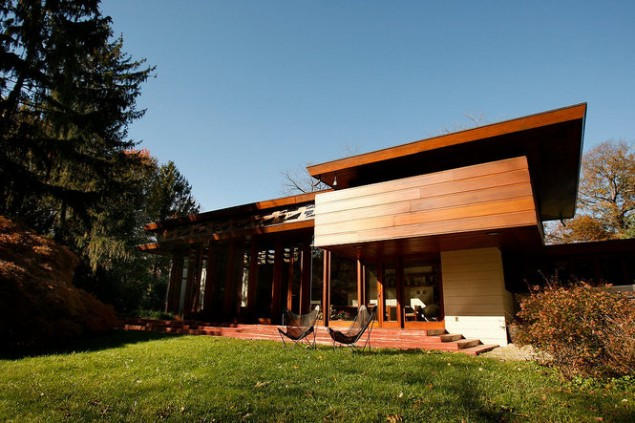 Frank Lloyd Wright's Bachman Wilson House is Moving to Arkansas