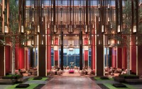 This awe-inspiring, elegant lobby at Shangri-La Qufu, China, won design firm AB Concept the top award for public space