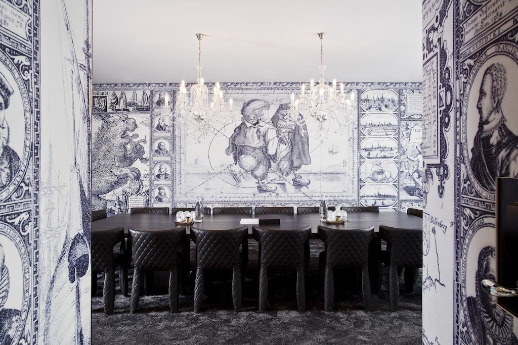 A celebration of Dutch art in the boardroom at Andaz Amsterdam Prinsengracht