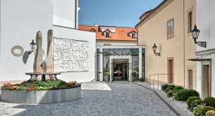 A brilliant interplay of antiquity and 21st century luxury resonate at Augustine, in Prague
